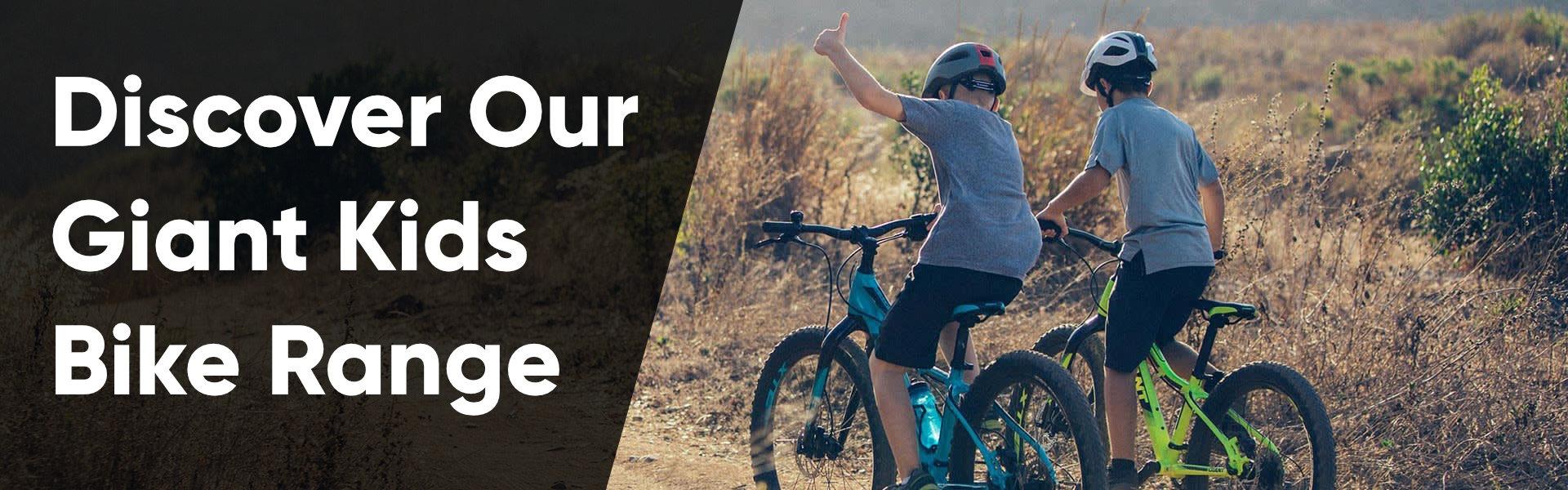 Discover Our Giant Kids Bike Range