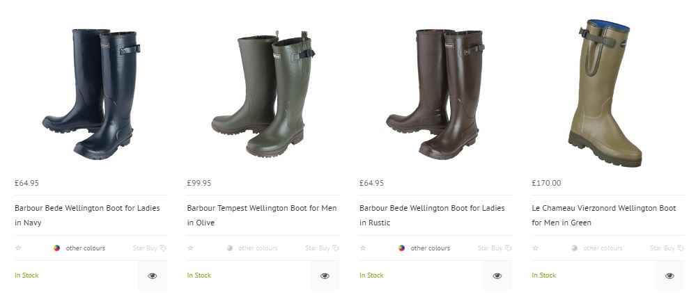 Welly boots