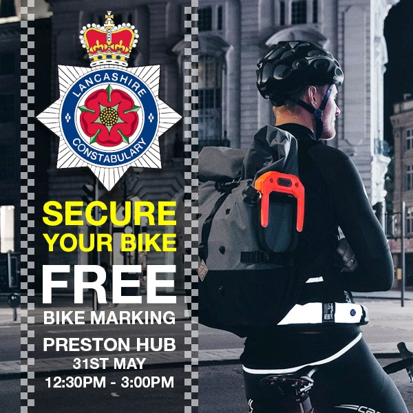 FREE Bike Marking by Lancashire Police - 31st May | Leisure