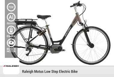 Raleigh Motus Low Step Electric Bike