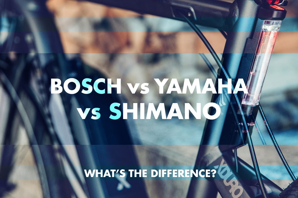 electric bikes bosch vs yamaha vs shimano what s the. Black Bedroom Furniture Sets. Home Design Ideas