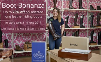 Boot Bonanza at RB Equestrian
