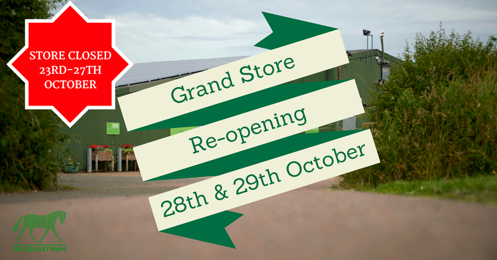 Grand Store Re-opening Event graphic