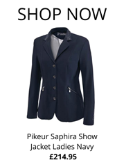 Pikeur Saphira Show Jacket Ladies Navy from RB Equestrian