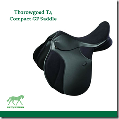 Thorowgood T4 Compact GP Saddle FACEBOOK