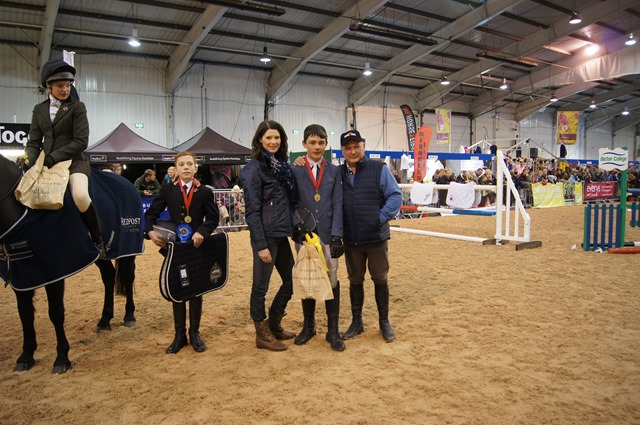 Redpost Equestrian Junior Showjumping Class At The West