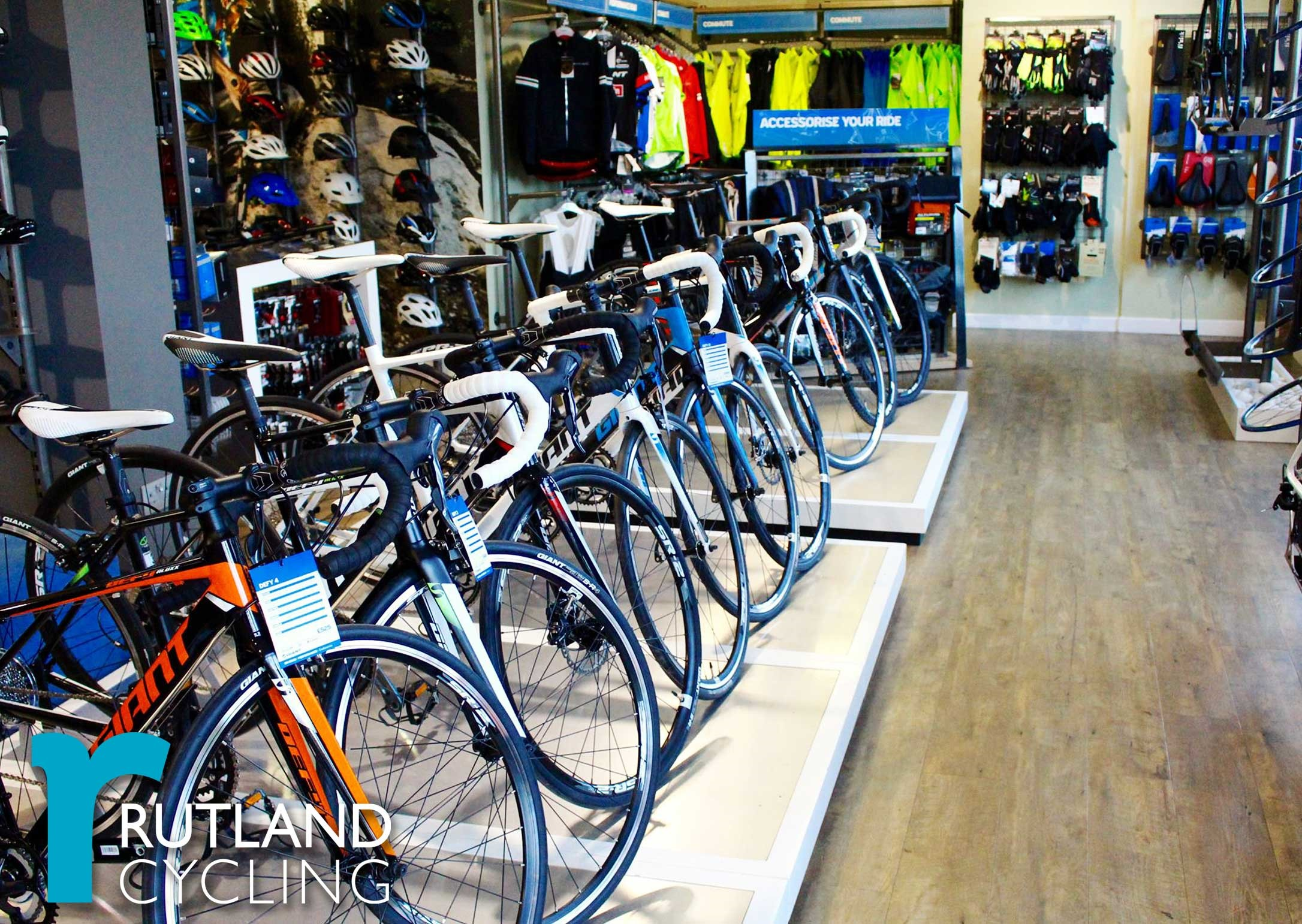 Rutland Cycling Cambridge Giant Store