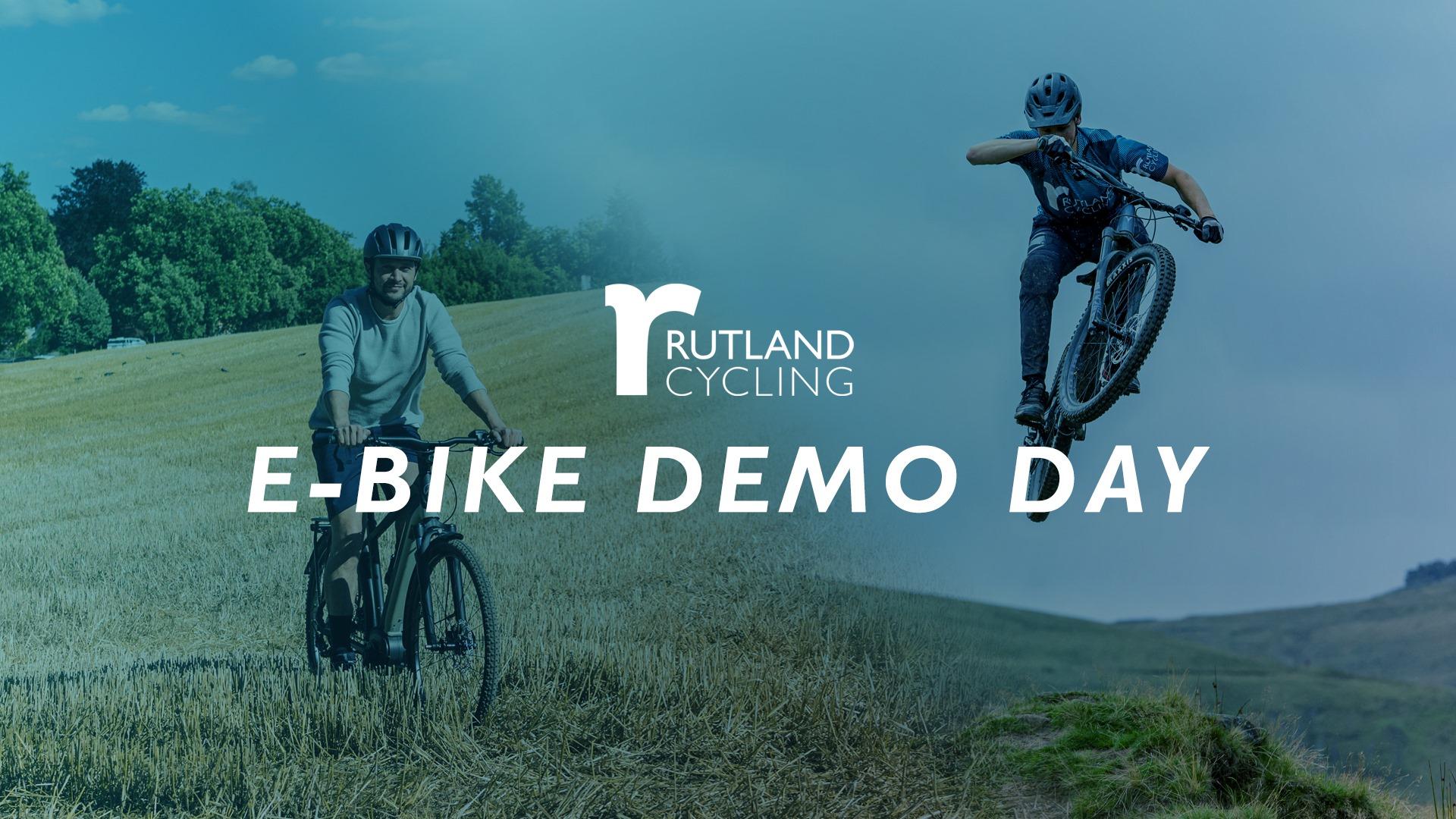 E-Bike Demo Day 2020 Blue