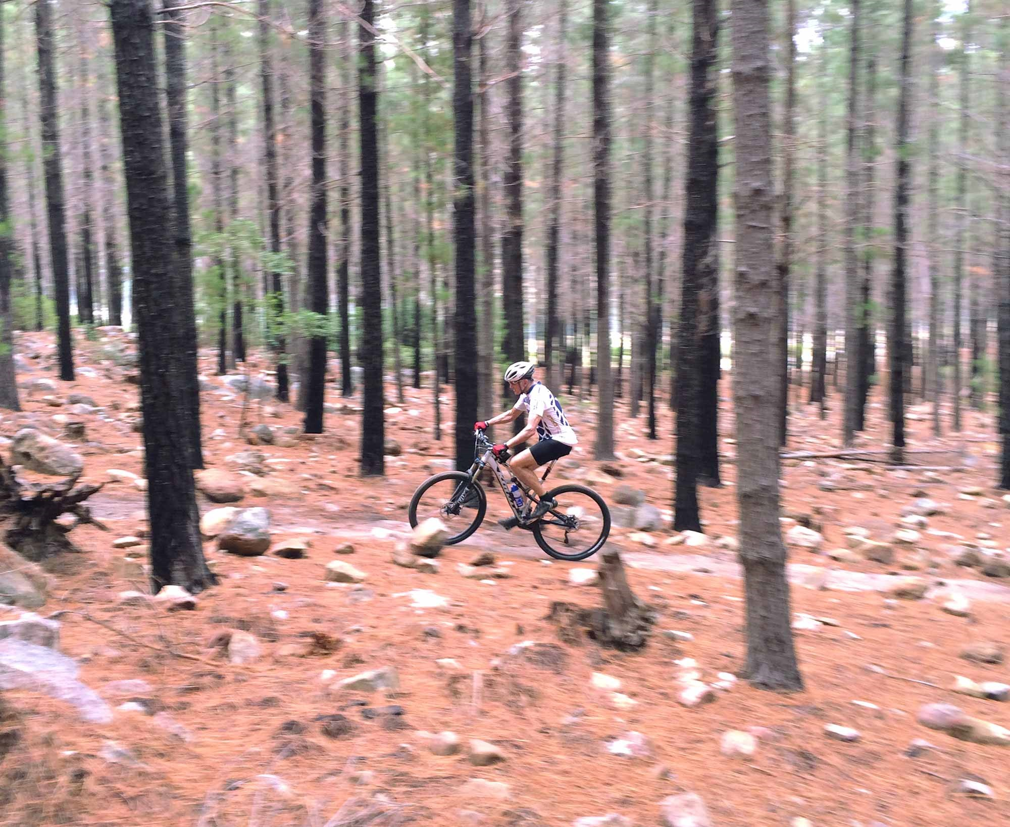 Dad Test Riding the Kona Satori in South Africa