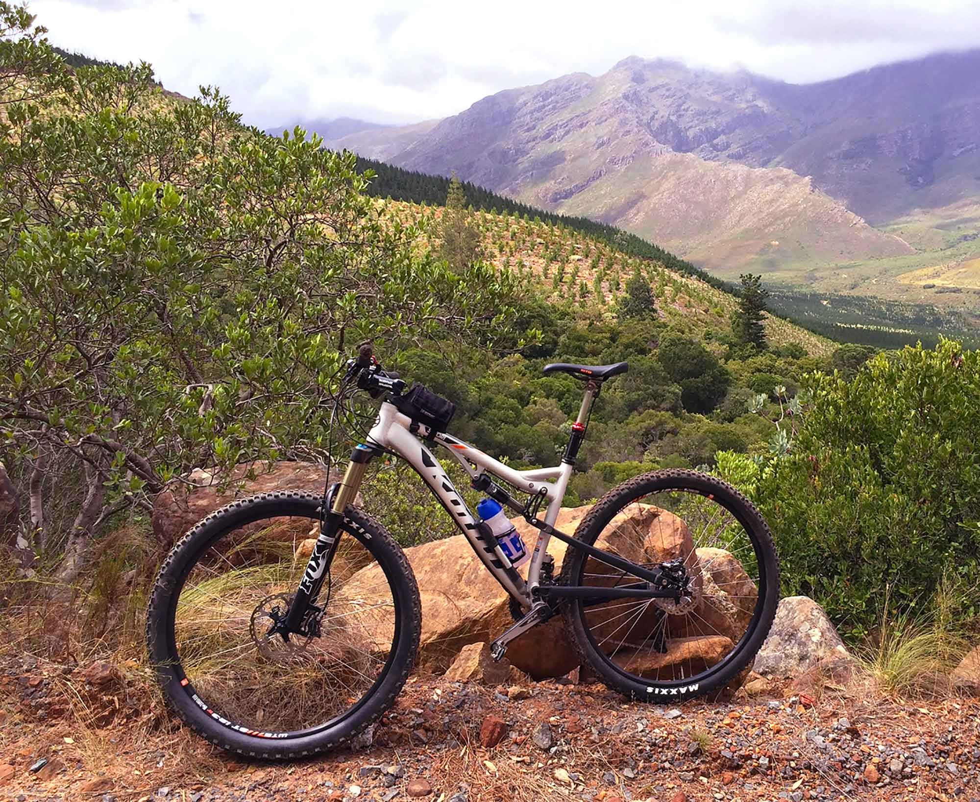 Test Riding the Kona Satori in South Africa