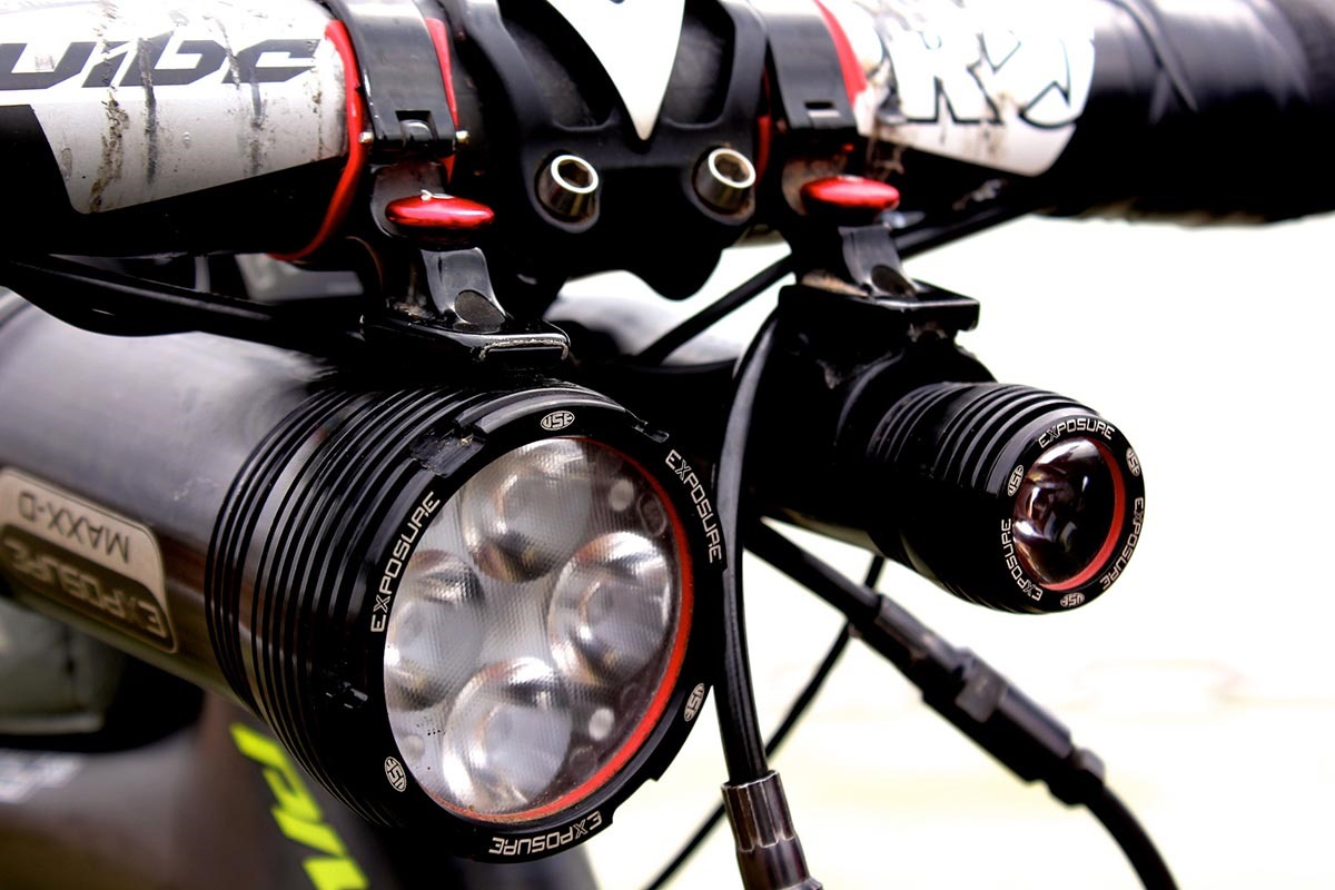 Exposure MaXx D Front Headlight