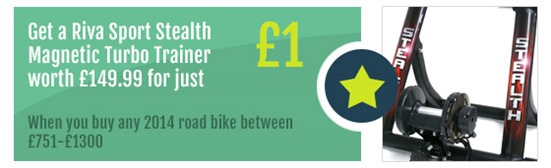 Riva-Turbo-Trainer-Road-Bike-Offer-Rutland-Cycling