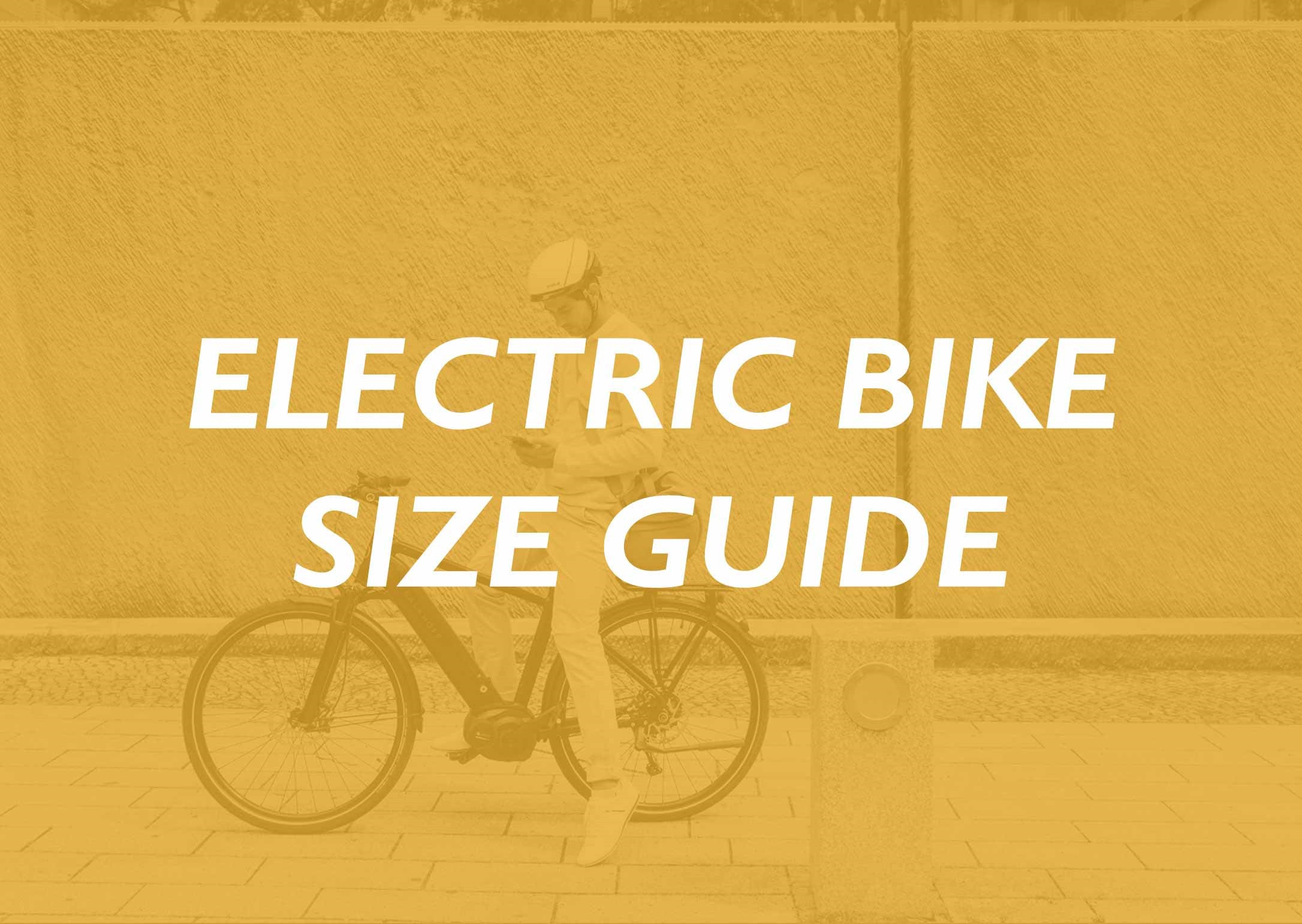 Electric Bike Size Guide