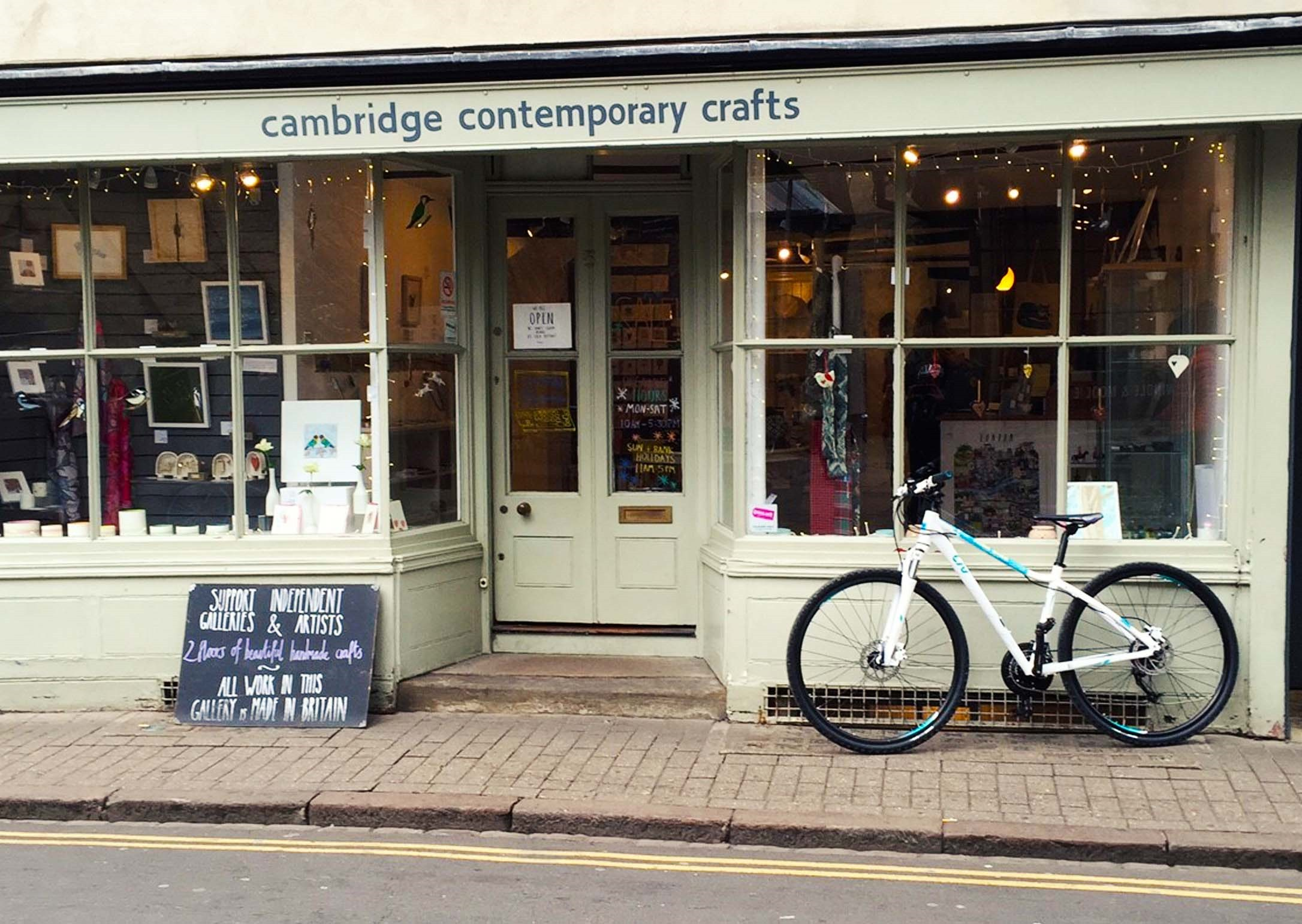 Ride around Cambridge in Pictures