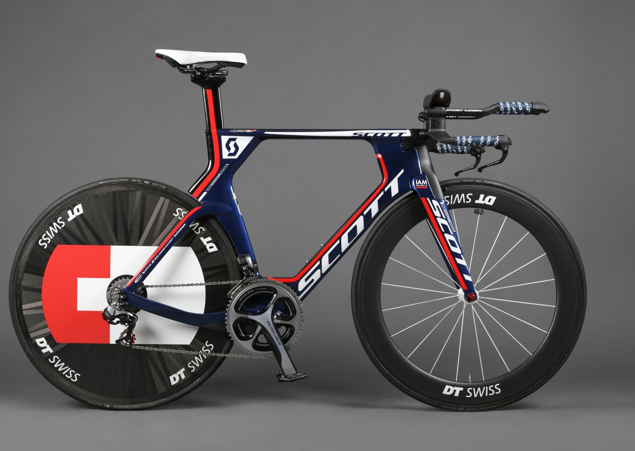 Scott Plasma IAM Cycling Team Issue Bike