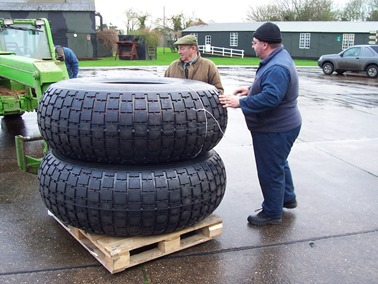 'To be honest, they're probably a bit big for the Stumpy'
