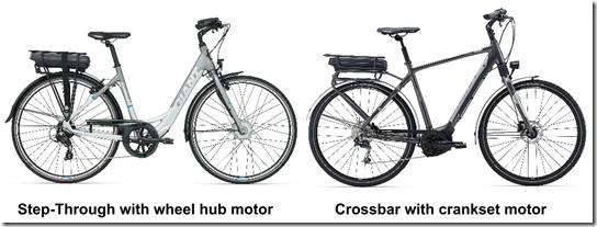 Step-through versus Crossbar