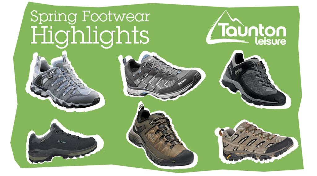 Spring Highlight footwear