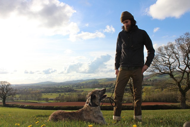 Trousers and pup