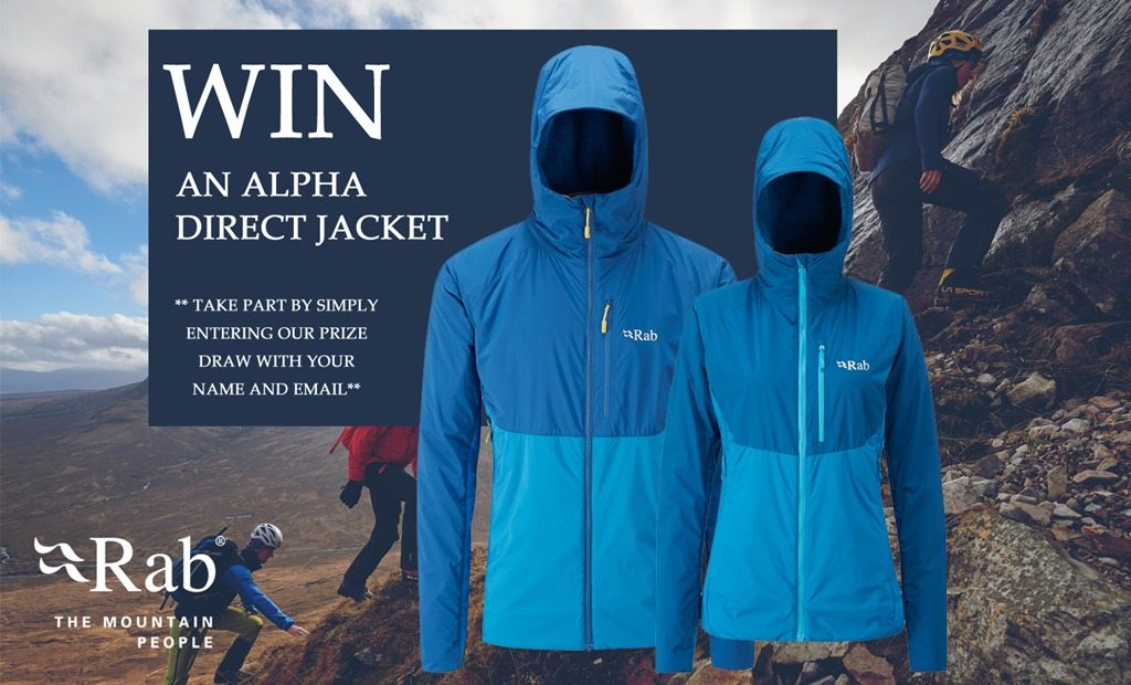 e7aed6b41 Competition - WIN a Rab Alpha Direct Jacket