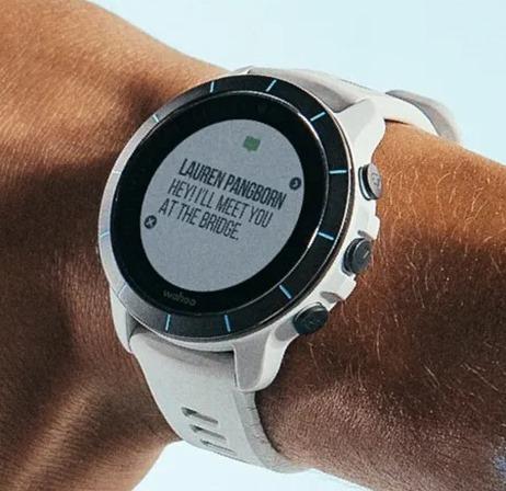 wahoo elemnt rival smart watch notifications