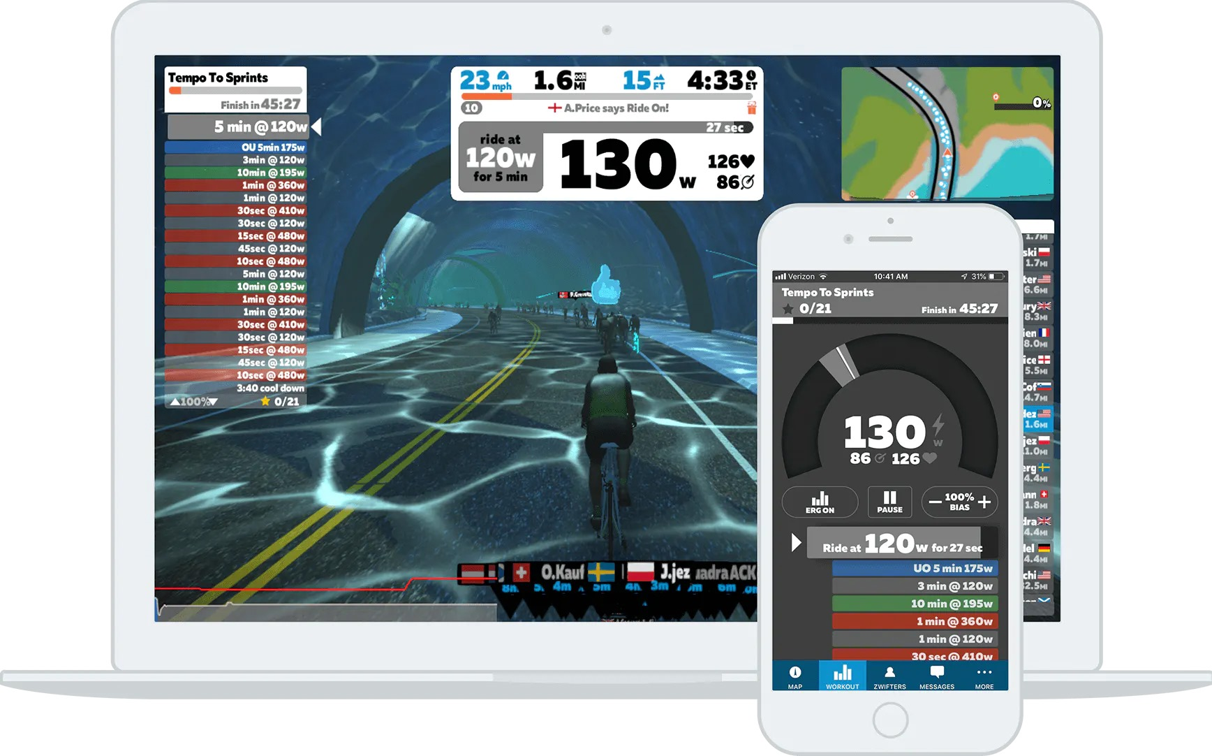 Structured workouts zwift community