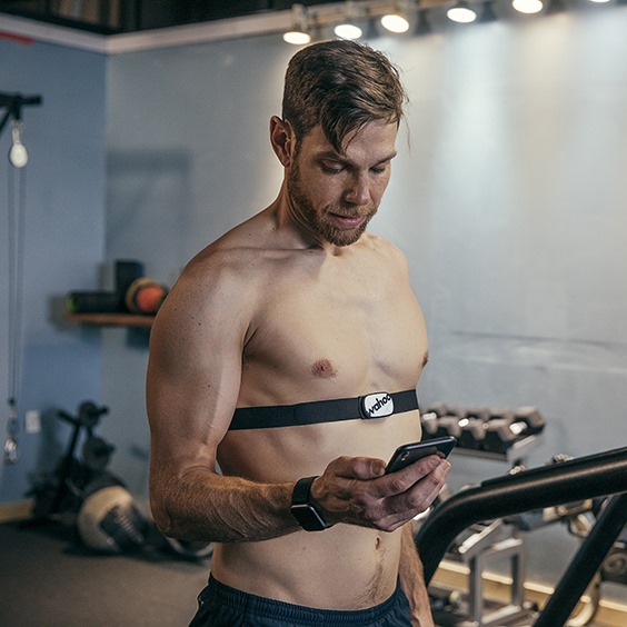 connecting heart rate monitor to smart phone