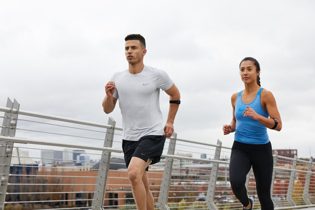 running with wahoo tickr heart rate monitor