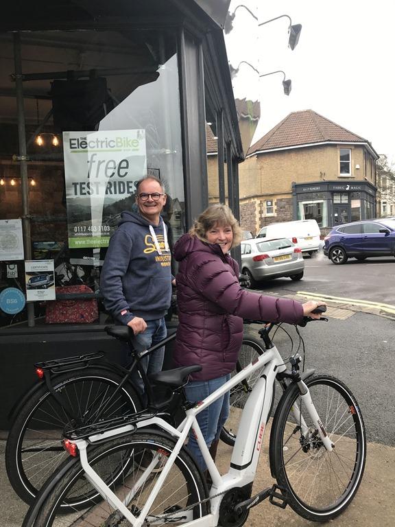 Bristol test rides Alex and Martin