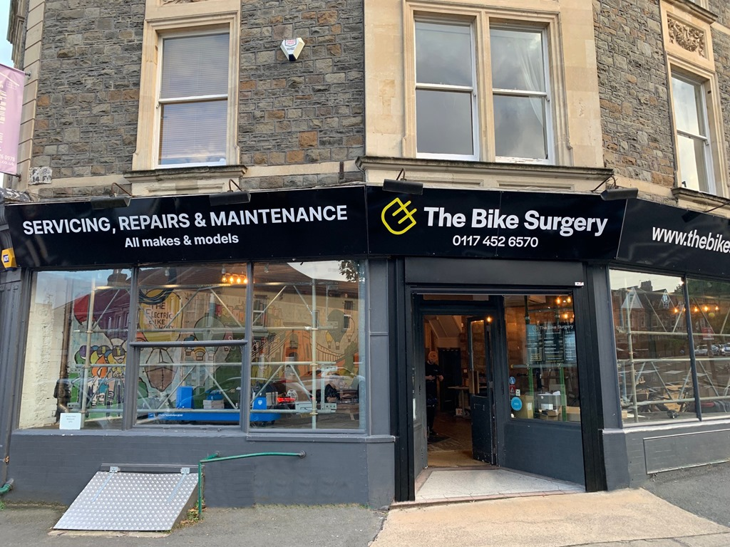 Surgery Frontage no weeds