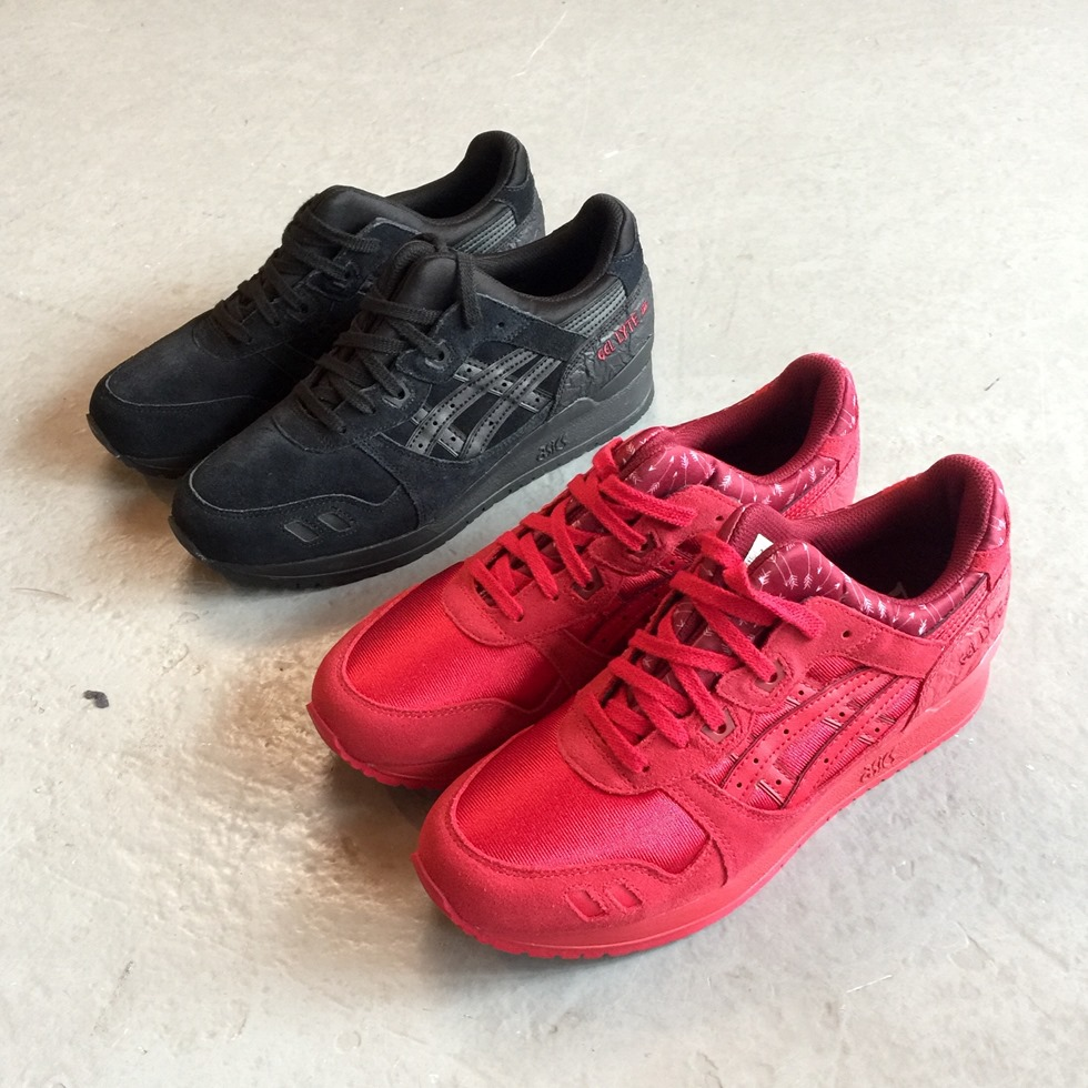 49a2be911d1e Asics Gel Lyte III Valentines Pack 2016 Red Cupid Black Heart