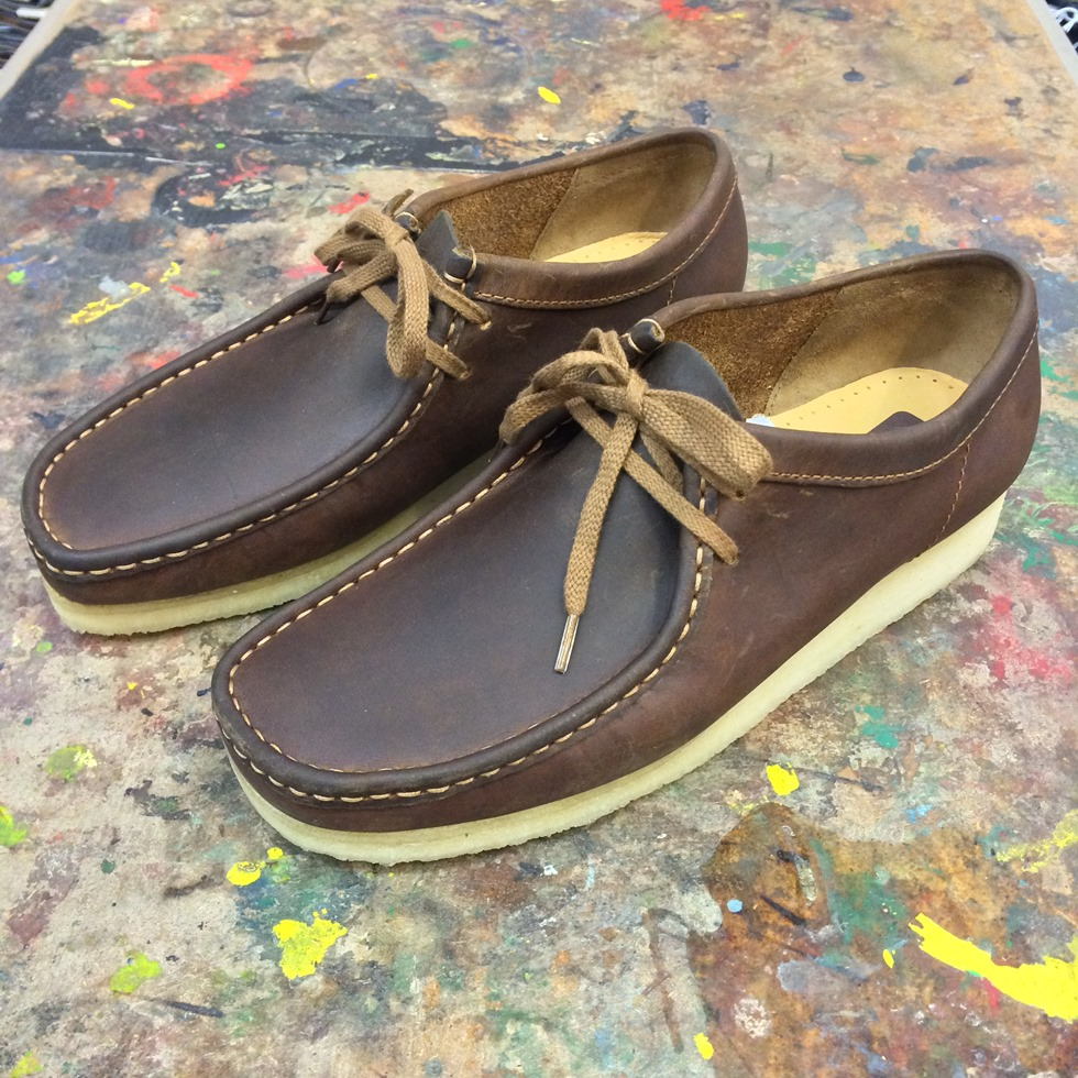 Beeswax Leather Wallabees, Lovely!