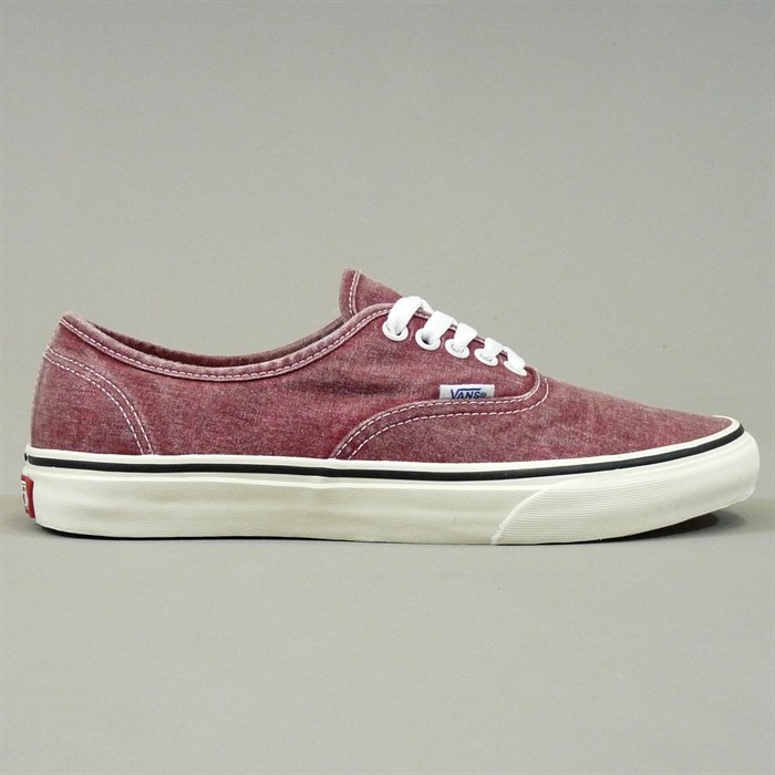 07411d177d Vans Authentic Washed Rio Red