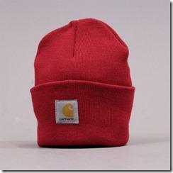 carhartt watch hat red