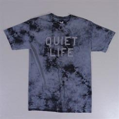 The Quiet Life Stormy Tie Dye T Shirt Grey
